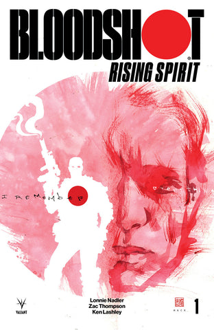 BLOODSHOT RISING SPIRIT #1 CVR B MACK COVER