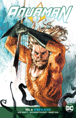 AQUAMAN TP VOL 06 KINGSLAYER COVER