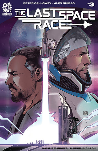 LAST SPACE RACE #3 COVER