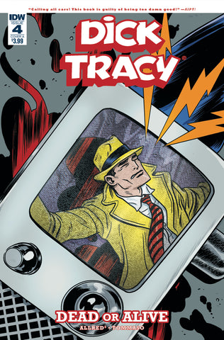 DICK TRACY DEAD OR ALIVE #4 (OF 4) CVR A ALLRED COVER