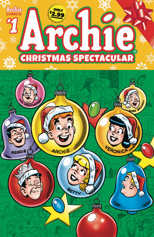 ARCHIES CHRISTMAS SPECTACULAR #1 COVER