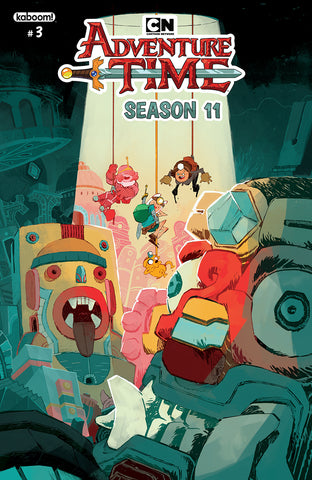 ADVENTURE TIME SEASON 11 #3 MAIN COVER