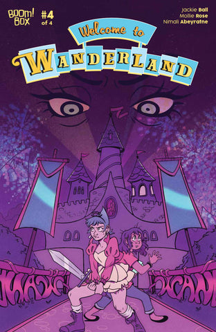 WELCOME TO WANDERLAND #4 (OF 4)