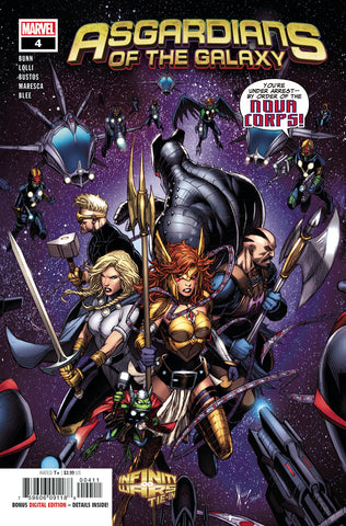 ASGARDIANS OF THE GALAXY #4 COVER