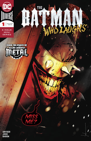 BATMAN WHO LAUGHS #1 (OF 6) COVER