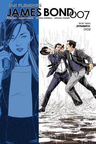 JAMES BOND 007 #2 CVR D LAMING COVER