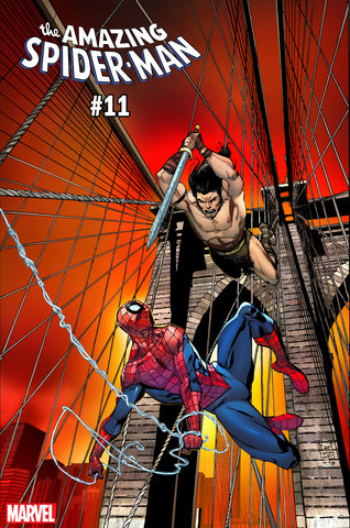AMAZING SPIDER-MAN #11 CAMUNCOLI CONAN VS MARVEL VAR COVER