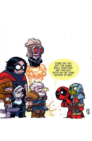 X-FORCE #1 YOUNG VAR COVER