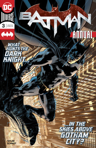 BATMAN ANNUAL #3 COVER