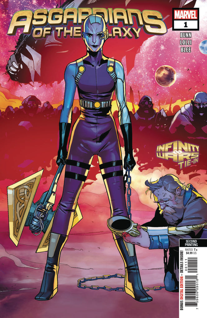 ASGARDIANS OF THE GALAXY #1 2ND PTG LOLLI VAR COVER