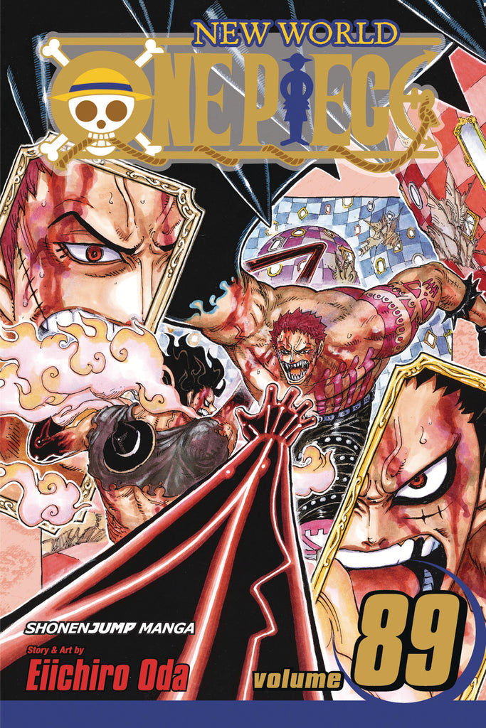 ONE PIECE GN VOL 89 COVER