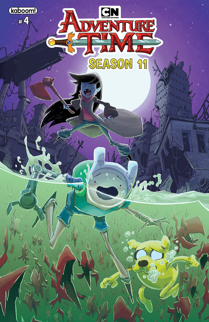 ADVENTURE TIME SEASON 11 #4 MAIN COVER