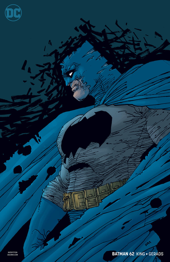 BATMAN #62 VAR ED COVER