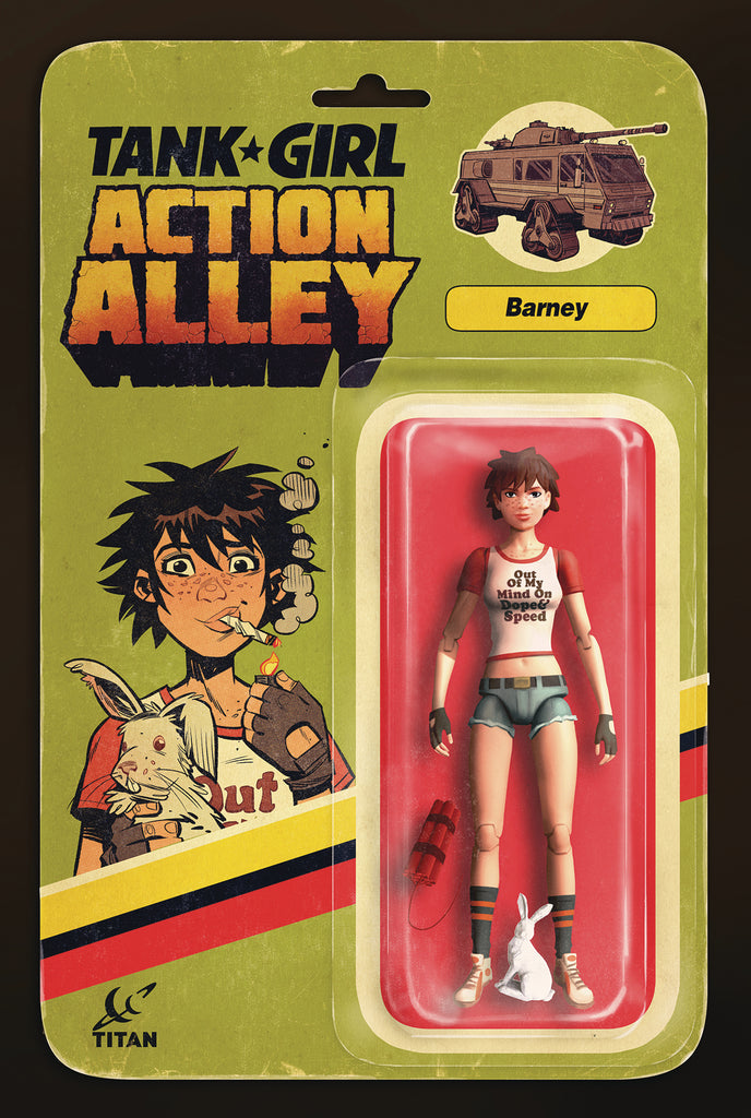 TANK GIRL ACTION ALLEY #3 CVR B ACTION FIGURE COVER