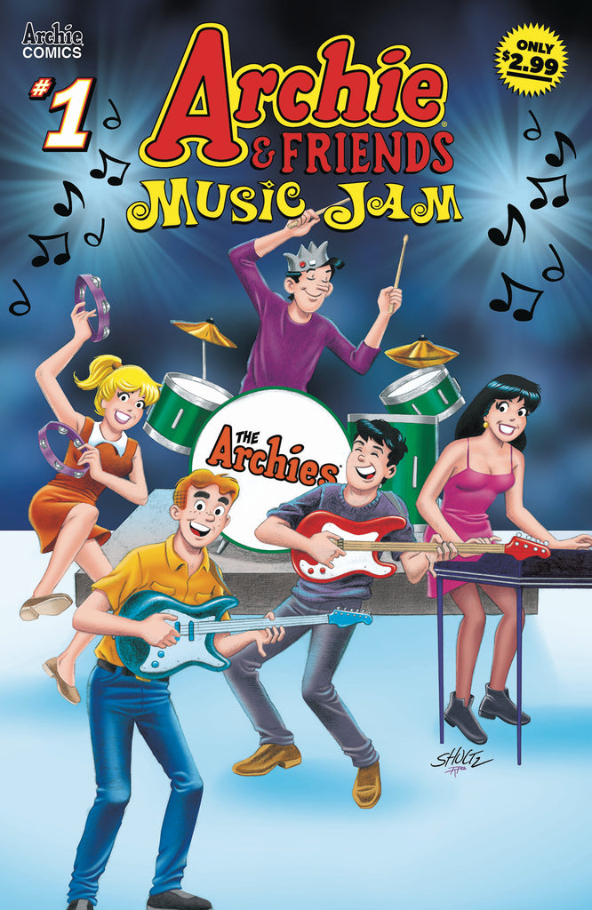 ARCHIE & FRIENDS MUSIC JAM #1 COVER