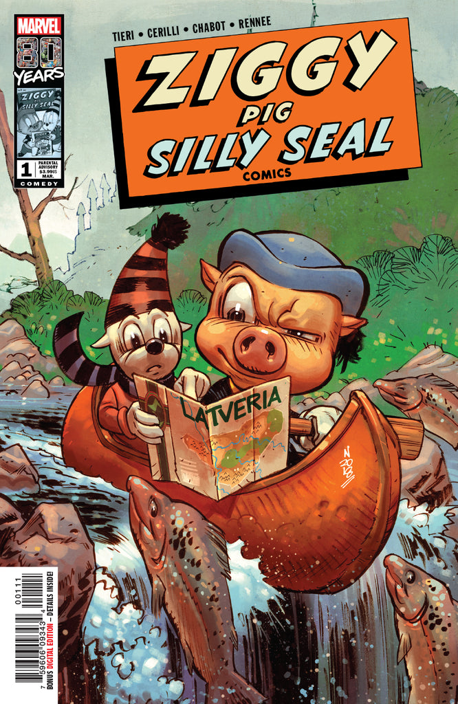 ZIGGY PIG SILLY SEAL COMICS #1 COVER