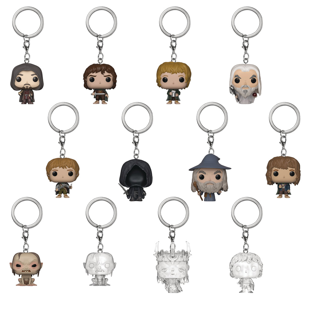 POCKET POP LORD OF THE RINGS HOBBIT KEYCHAIN BMB