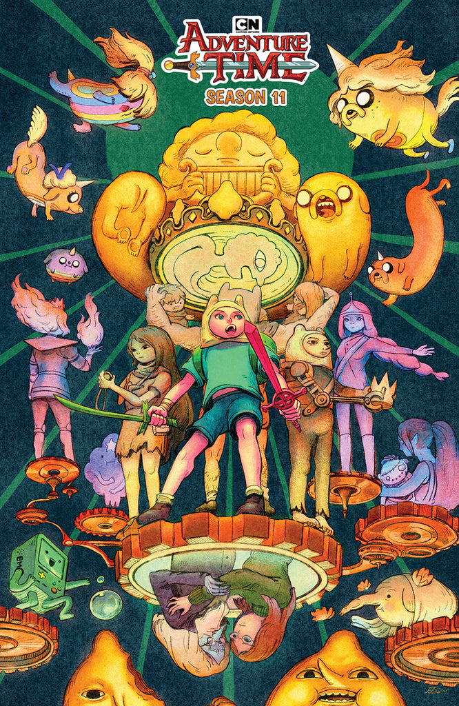 ADVENTURE TIME SEASON 11 #5 PREORDER BENBASSAT COVER