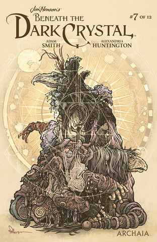 JIM HENSON BENEATH DARK CRYSTAL #7 (OF 12) PREORDER PETERSEN COVER