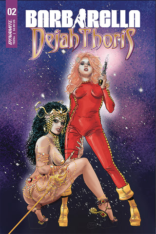 BARBARELLA DEJAH THORIS #2 CVR C BROXTON COVER