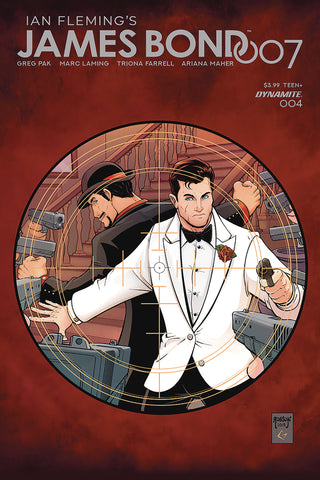 JAMES BOND 007 #4 CVR B ROBSON COVER
