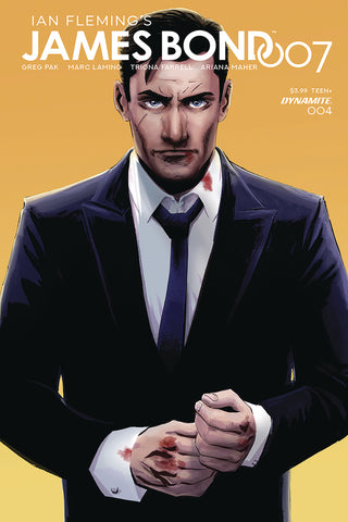 JAMES BOND 007 #4 CVR C MOUSTAFA COVER