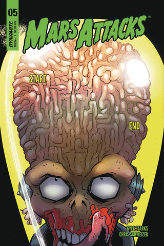 MARS ATTACKS #5 CVR A MARQUES COVER