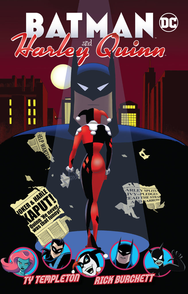 BATMAN & HARLEY QUINN TP COVER