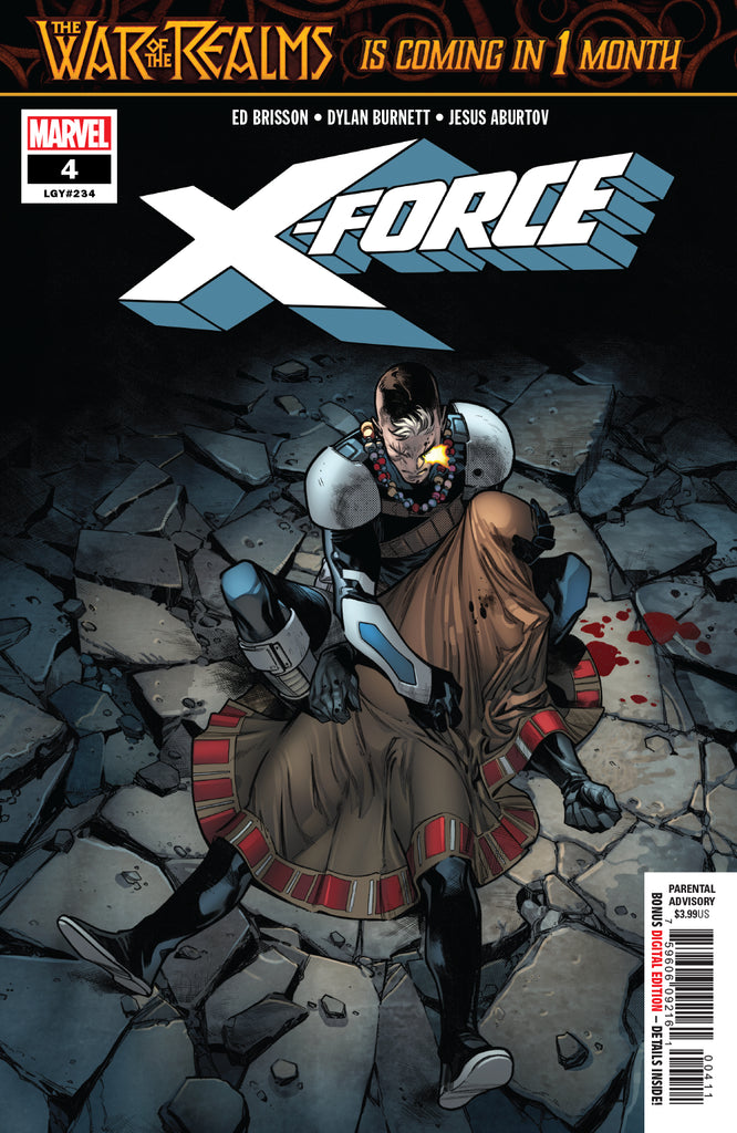 X-FORCE #4 COVER