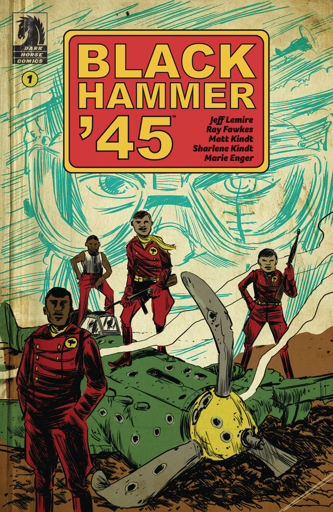 BLACK HAMMER 45 FROM WORLD OF BLACK HAMMER #1 CVR A KINDT COVER