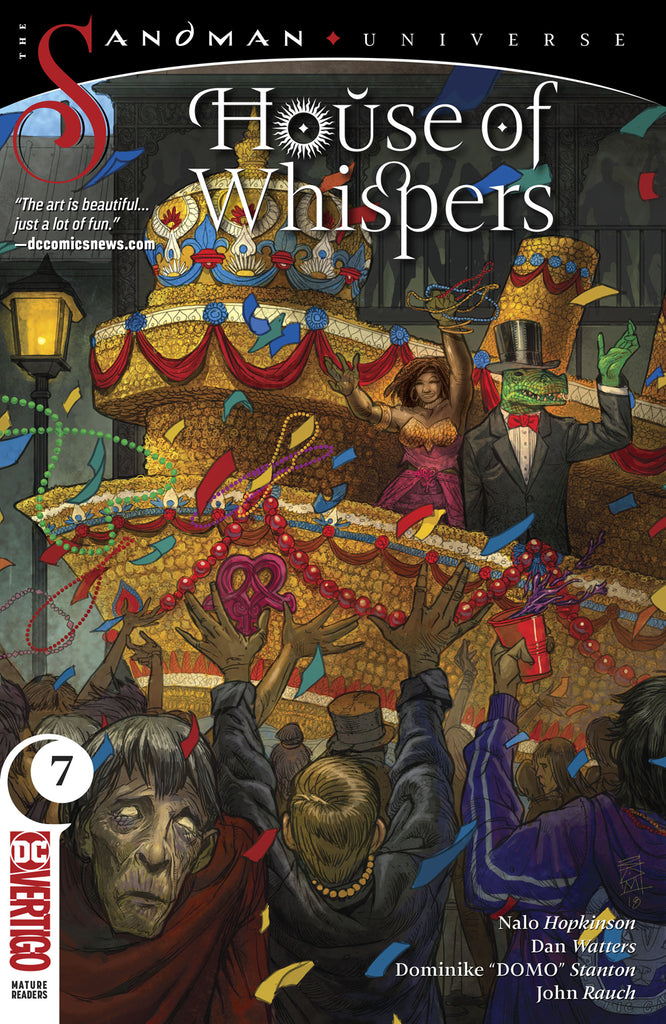 HOUSE OF WHISPERS #7 (MR) COVER
