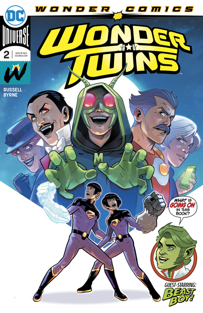 WONDER TWINS #2 (OF 6) COVER