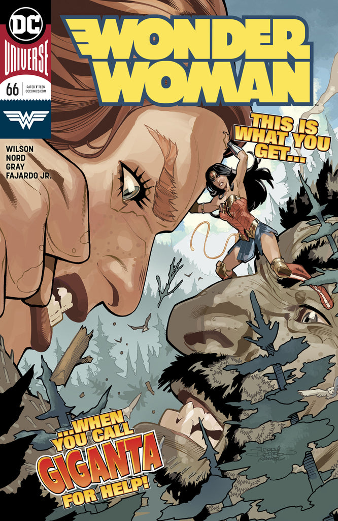 WONDER WOMAN #66 COVER