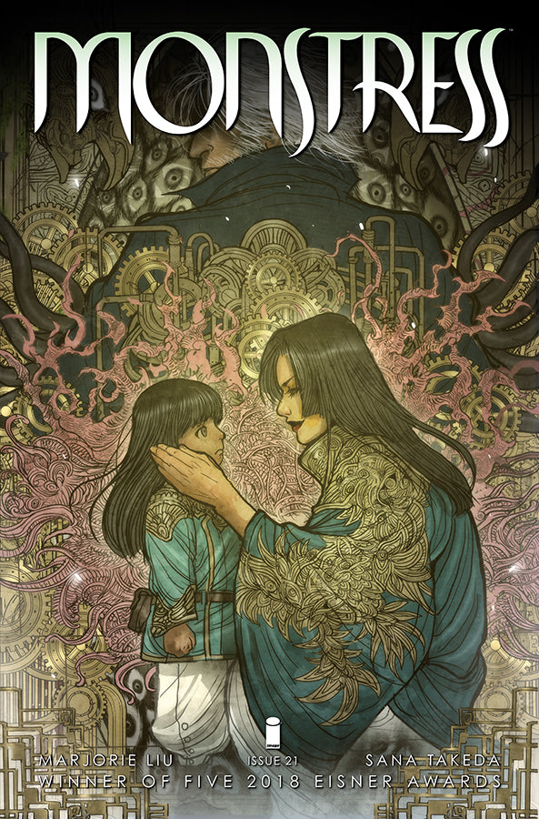 MONSTRESS #21 (MR) COVER