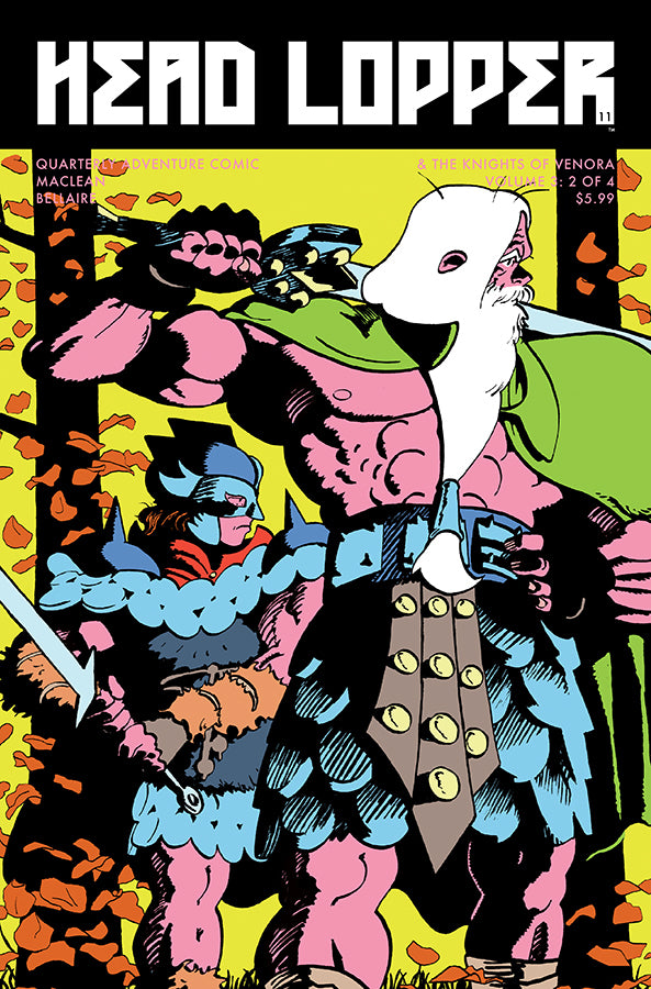 HEAD LOPPER #11 CVR B GOFA (MR) COVER