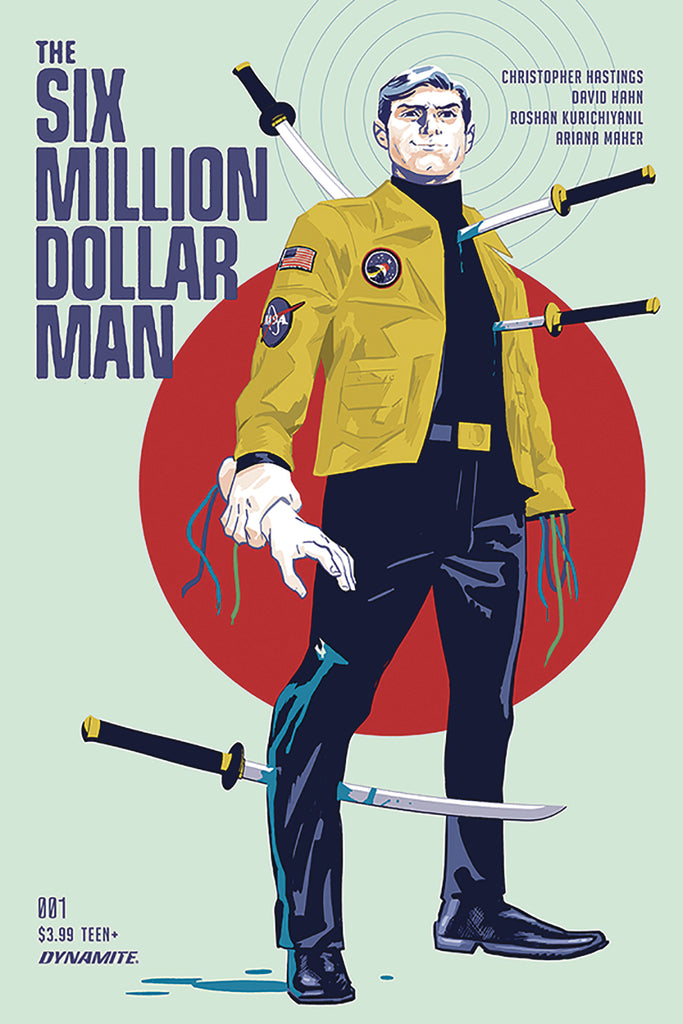 SIX MILLION DOLLAR MAN #1 CVRA WALSH COVER