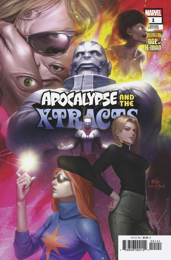 AGE OF X-MAN APOCALYPSE AND X-TRACTS #1 (OF 5) INHYUK LEE CONNECTING COVER