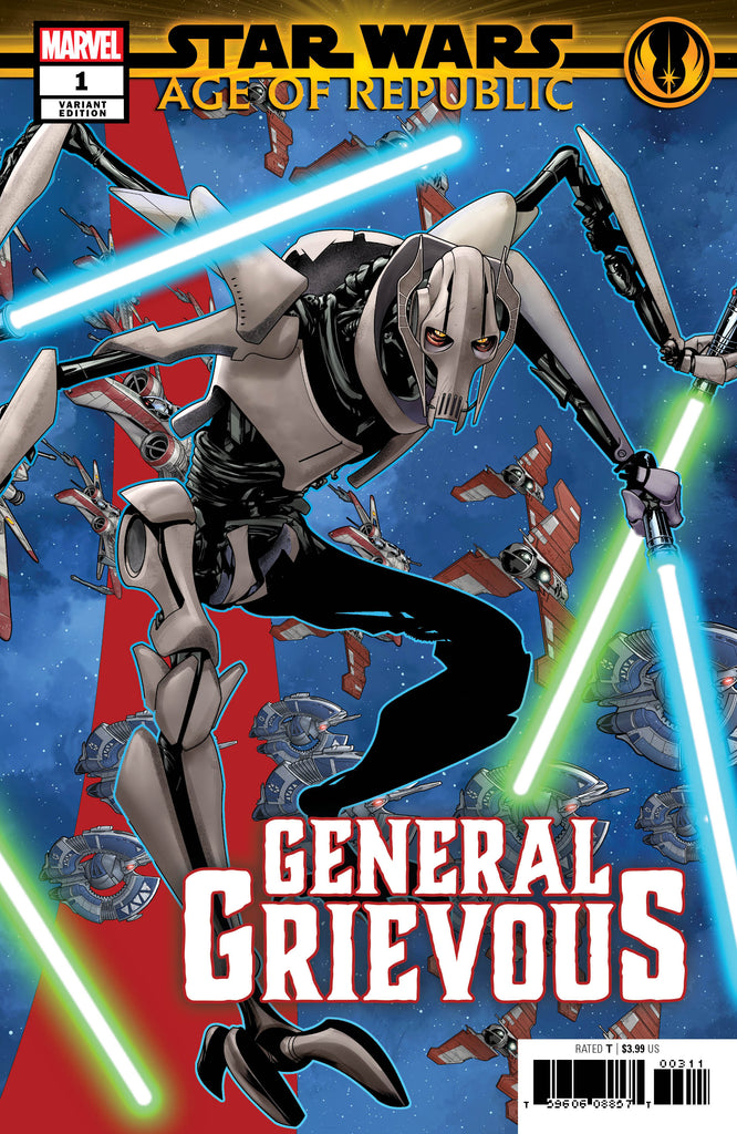 STAR WARS AOR GENERAL GRIEVOUS #1 MCKONE PUZZLE PC VAR COVER