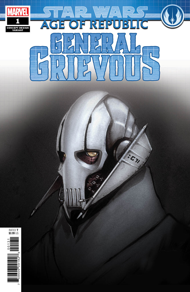 STAR WARS AOR GENERAL GRIEVOUS #1 CONCEPT VAR COVER