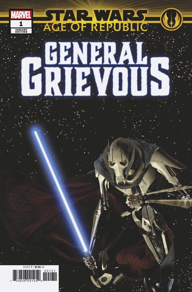 STAR WARS AOR GENERAL GRIEVOUS #1 MOVIE VAR COVER