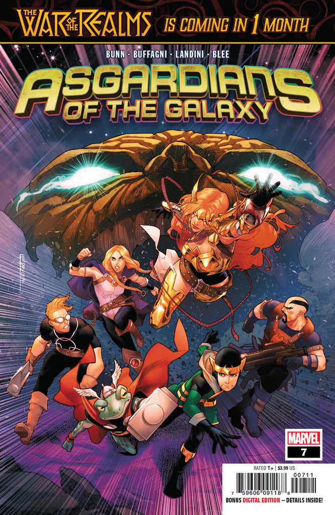 ASGARDIANS OF THE GALAXY #7 WR COVER