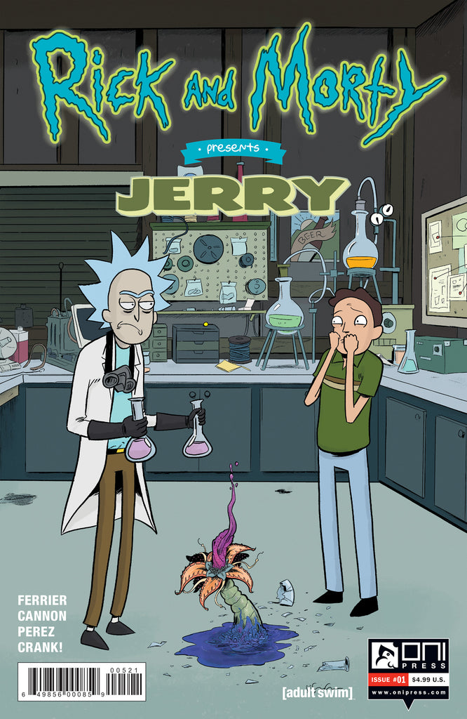 RICK & MORTY PRESENTS JERRY #1 CVR B GRACE COVER