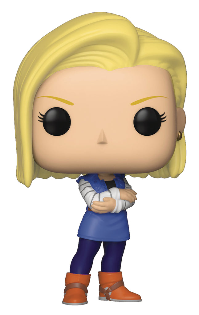 POP ANIMATION DBZ S5 ANDROID 18 VINYL FIGURE