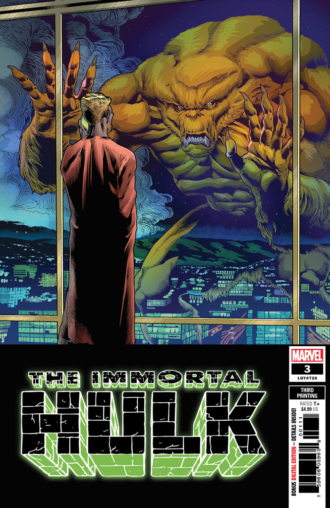 IMMORTAL HULK #3 3RD PTG BROWN VAR COVER