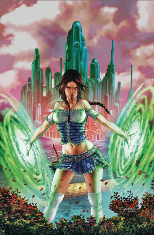 OZ HEART OF MAGIC #2 (OF 5) CVR C VIGONTE
