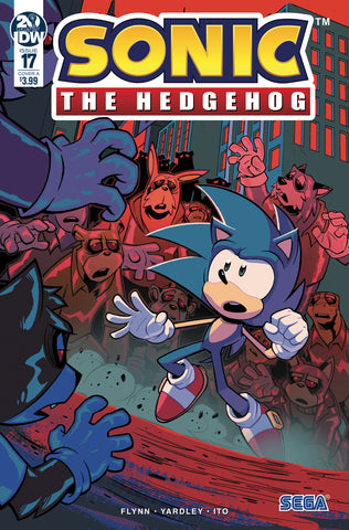 SONIC THE HEDGEHOG #17 CVR A LAWRENCE