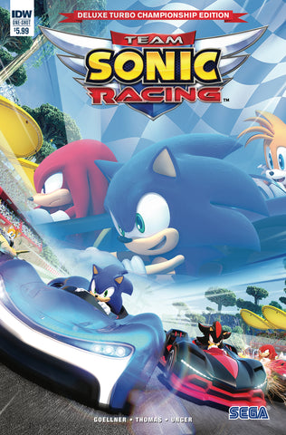 TEAM SONIC RACING PLUS DLX TURBO CHAMPIONSHIP ED