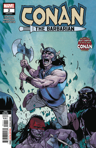 CONAN THE BARBARIAN #2 3RD PTG ASRAR VAR COVER