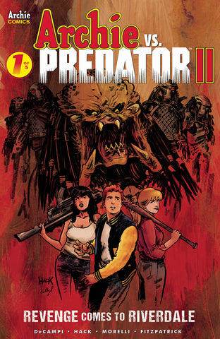 ARCHIE VS PREDATOR 2 #1 (OF 5) CVR A HACK