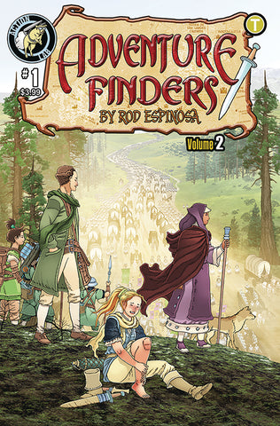 ADVENTURE FINDERS EDGE OF EMPIRE #1
